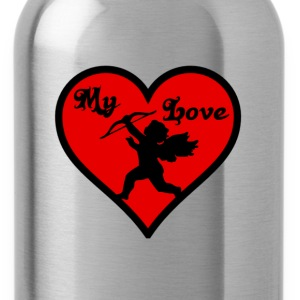 My Love T-Shirts - Water Bottle