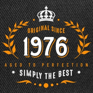 original since 1976 simply the best 40th birthday - Snapback Cap