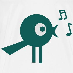 singing bird Overig - Mannen Premium T-shirt
