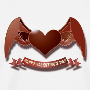 Happy Valentine's Day Buttons - Men's Premium T-Shirt