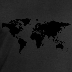 world map T-Shirts - Men's Sweatshirt by Stanley & Stella