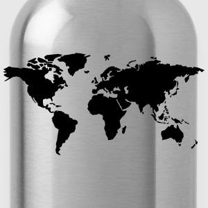 world map T-Shirts - Water Bottle