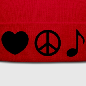 music T-Shirts - Winter Hat