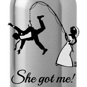 She Got Me! (Groom / Stag Party / Bachelor Party) T-Shirts - Water Bottle