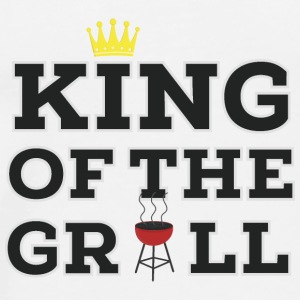 King of the Grill  Baby Bodysuits - Men's Premium T-Shirt