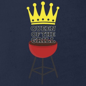 Queen of the grill Shirts - Organic Short-sleeved Baby Bodysuit