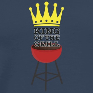 King of the Grill Manches longues - T-shirt Premium Homme