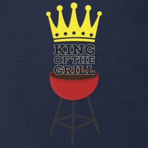 King of the Grill Shirts - Organic Short-sleeved Baby Bodysuit