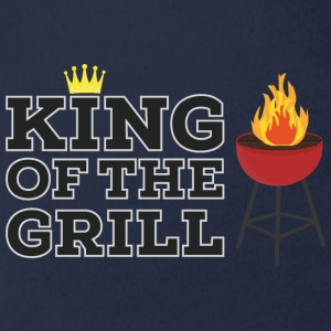 King of the grill T-Shirts - Baby Bio-Kurzarm-Body