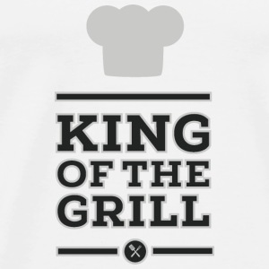 King of the Grill Tops - Camiseta premium hombre