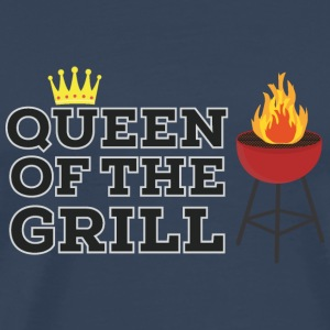 Queen of the grill Langarmshirts - Männer Premium T-Shirt