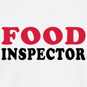 FOOD INSPECTOR Mugs & Drinkware - Men's Premium T-Shirt