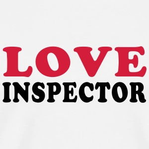 LOVE INSPECTOR Mugs & Drinkware - Men's Premium T-Shirt