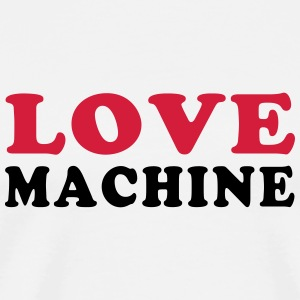 LOVE MACHINE Mugs & Drinkware - Men's Premium T-Shirt