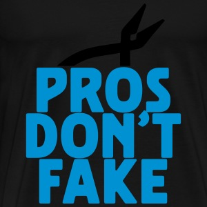 pros don't fake Tank Tops - Männer Premium T-Shirt
