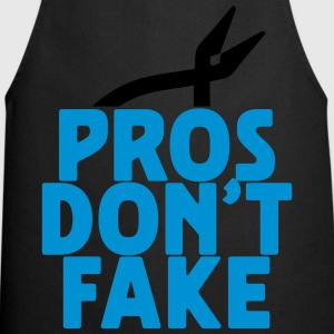 pros don't fake T-Shirts - Kochschürze