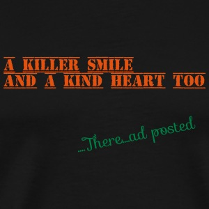 Killer smile - Men's Premium T-Shirt