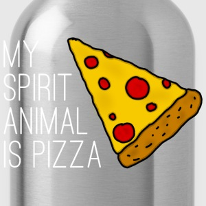 My Spirit Animal Is Pizza T-Shirts - Trinkflasche