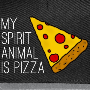 My Spirit Animal Is Pizza T-Shirts - Snapback Cap