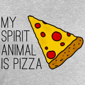 My Spirit Animal Is Pizza T-Shirts - Männer Sweatshirt von Stanley & Stella