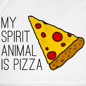 My Spirit Animal Is Pizza T-Shirts - Baseballkappe