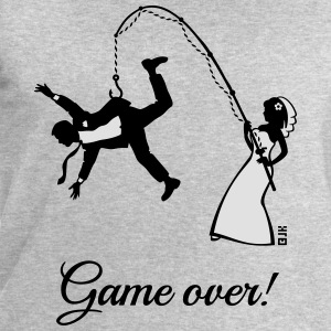 Game Over (Bride Fishing Husband) Tank Tops - Men's Sweatshirt by Stanley & Stella