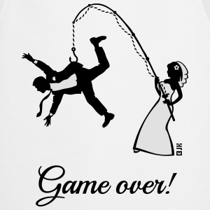 Game Over (Bride Fishing Husband) Tank Tops - Cooking Apron