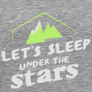 Camping: let's sleep under the stars Débardeurs - T-shirt Premium Homme