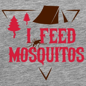 Camping: I feed mosquitos Débardeurs - T-shirt Premium Homme