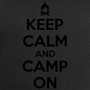 camping: keep calm and camp on Tank Tops - Männer Sweatshirt von Stanley & Stella