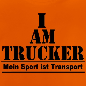 Trucker Transport T-Shirts - Baby T-Shirt