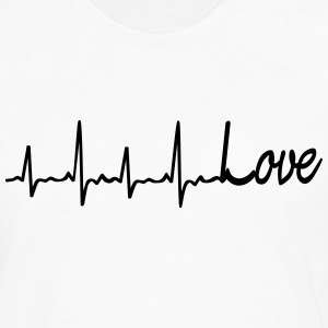 Love all my heart T-Shirts - Männer Premium Langarmshirt