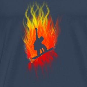 Snowboarders - Men's Premium T-Shirt