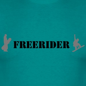 Freerider - Herre-T-shirt