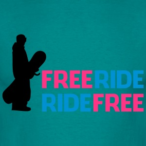 Free ride, ride free - Men's T-Shirt