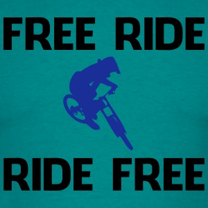 Freerider, ride free - Männer T-Shirt