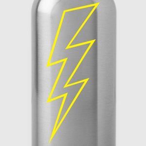 Blitz Symbol Flash Hochspannung High Voltage T-Shirts - Trinkflasche