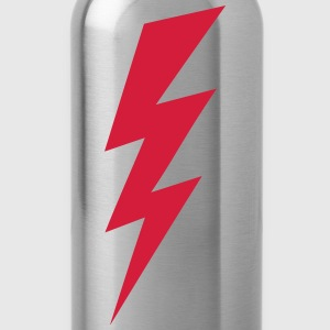Blitz Logo Flash Hochspannung High Voltage T-Shirts - Trinkflasche