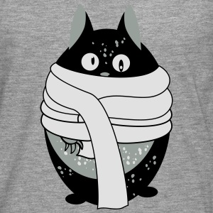 Cat with scarf Shirts - Men's Premium Longsleeve Shirt