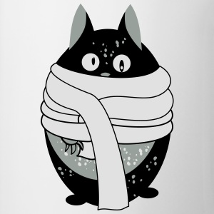 Cat avec un foulard Sweats - Tasse