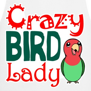 Crazy bird lady - Cooking Apron