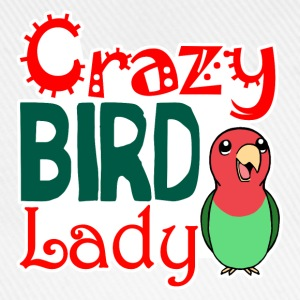 Crazy bird lady - Baseball Cap