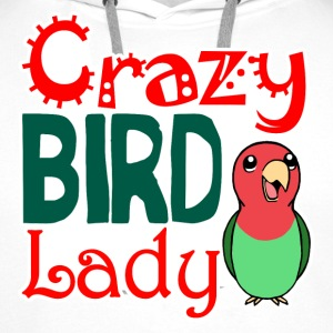 Crazy bird lady - Men's Premium Hoodie