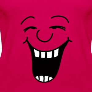 Lachen - Smile - T-Shirts - Frauen Premium Tank Top