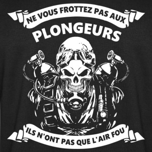 Plongeur a l'air fou Tee shirts - Sweat-shirt Homme Stanley & Stella