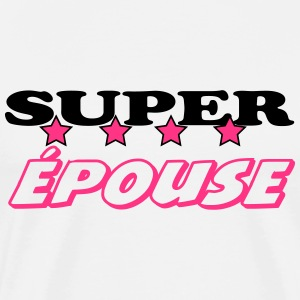 Super épouse Tabliers - T-shirt Premium Homme