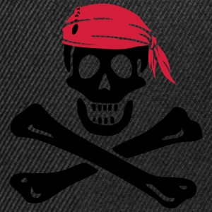 Jolly Roger Piratenflagge T-Shirts - Snapback Cap