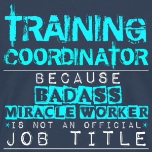 Training Coordinator - Men's Premium T-Shirt