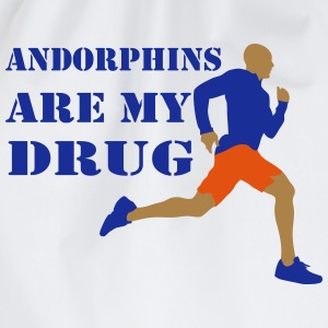 Andorphins are my drug - Sac de sport léger