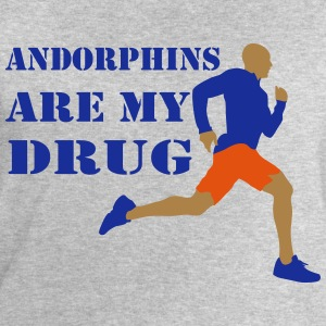 Andorphins are my drug - Sweat-shirt Homme Stanley & Stella